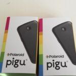 Polaroid PiguとBluetoothイヤホン(SONY MDR-EX31BN)