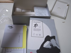 フリーテル SAMURAI 雅(miyabi)の箱の内容