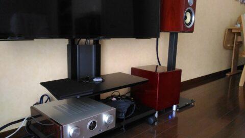 オーディオシステム: B&W CM1 S2 + Marantz(マランツ) HD-AMP1 + TEAC SW-P300 の組み合わせ