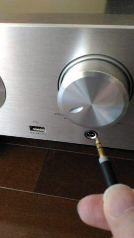 MDR-1ADACのヘッドフォンケーブルとHD-AMP1のヘッドフォン端子は大きさが合わない