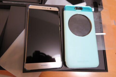Huawei Mate9とASUS ZenFone Selfieの比較