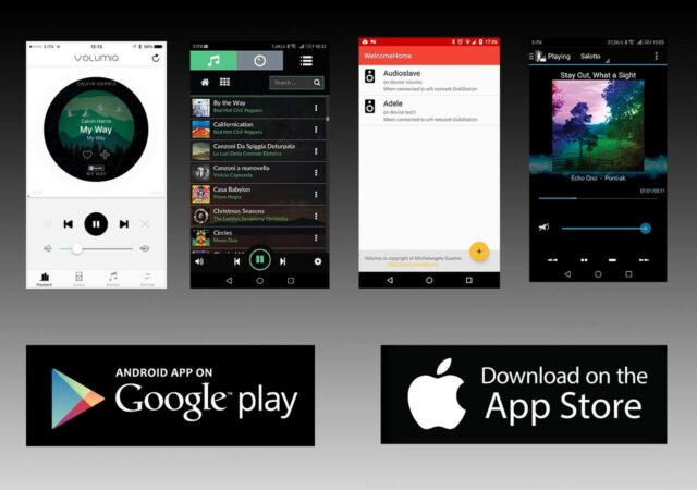 Volumio公式アプリ