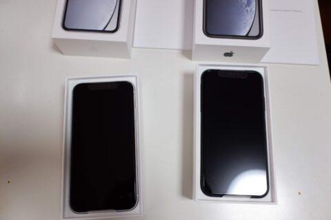 iPhone XRの箱の中身
