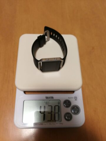 Fitbit Blazeの重量