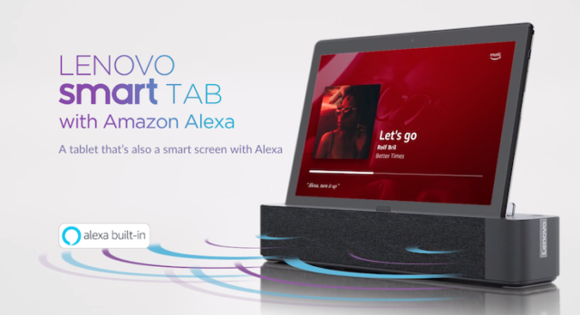 lenovo smart tab p10 with alexa