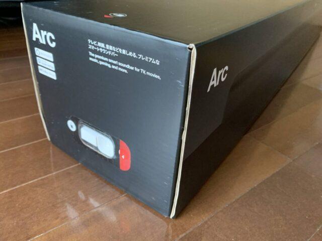 Sonos Arcの箱の側面のロック機構